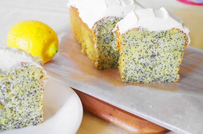 レモンポピーシード cake